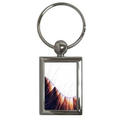 Abstract Lines Key Chains (rectangle)