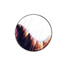 Abstract Lines Hat Clip Ball Marker