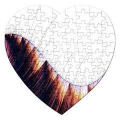 Abstract Lines Jigsaw Puzzle (Heart)