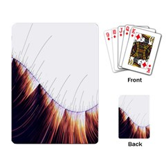 Abstract Lines Playing Card