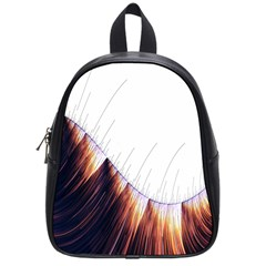 Abstract Lines School Bags (small)