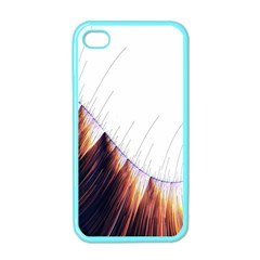 Abstract Lines Apple Iphone 4 Case (color)