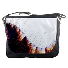 Abstract Lines Messenger Bags