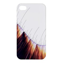 Abstract Lines Apple iPhone 4/4S Premium Hardshell Case
