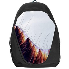 Abstract Lines Backpack Bag