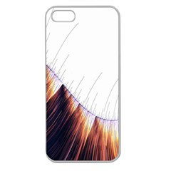 Abstract Lines Apple Seamless iPhone 5 Case (Clear)