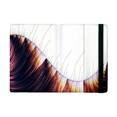 Abstract Lines Apple iPad Mini Flip Case