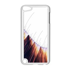 Abstract Lines Apple Ipod Touch 5 Case (white)
