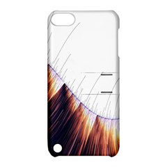 Abstract Lines Apple iPod Touch 5 Hardshell Case with Stand