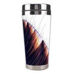 Abstract Lines Stainless Steel Travel Tumblers