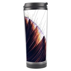 Abstract Lines Travel Tumbler
