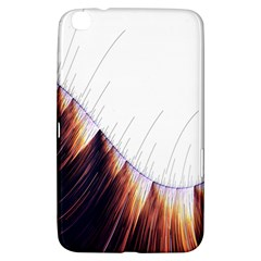 Abstract Lines Samsung Galaxy Tab 3 (8 ) T3100 Hardshell Case