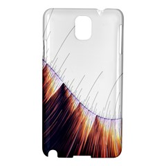 Abstract Lines Samsung Galaxy Note 3 N9005 Hardshell Case
