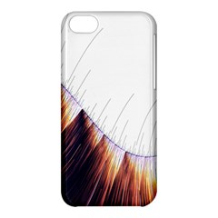 Abstract Lines Apple iPhone 5C Hardshell Case