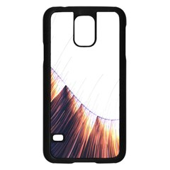 Abstract Lines Samsung Galaxy S5 Case (Black)