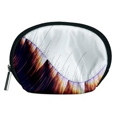 Abstract Lines Accessory Pouches (Medium)