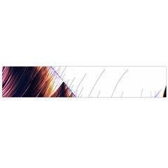 Abstract Lines Flano Scarf (Large)