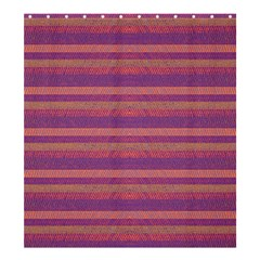 Lines Shower Curtain 66  x 72  (Large)