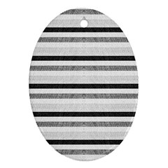 Lines Ornament (Oval)
