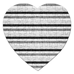 Lines Jigsaw Puzzle (Heart)