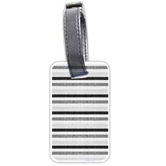 Lines Luggage Tags (two Sides)