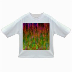 Abstract Trippy Bright Melting Infant/toddler T Shirts