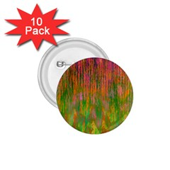 Abstract Trippy Bright Melting 1.75  Buttons (10 pack)