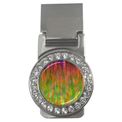 Abstract Trippy Bright Melting Money Clips (CZ)