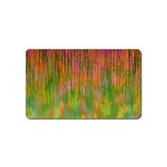 Abstract Trippy Bright Melting Magnet (name Card)