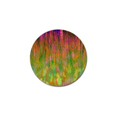 Abstract Trippy Bright Melting Golf Ball Marker (4 pack)
