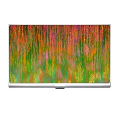 Abstract Trippy Bright Melting Business Card Holders
