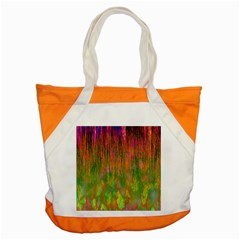 Abstract Trippy Bright Melting Accent Tote Bag