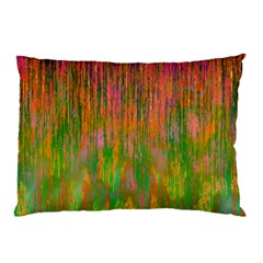 Abstract Trippy Bright Melting Pillow Case
