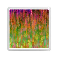 Abstract Trippy Bright Melting Memory Card Reader (square)