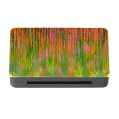 Abstract Trippy Bright Melting Memory Card Reader with CF