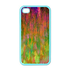 Abstract Trippy Bright Melting Apple iPhone 4 Case (Color)