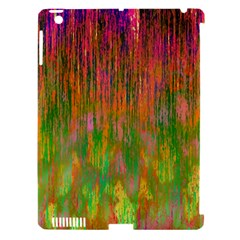 Abstract Trippy Bright Melting Apple iPad 3/4 Hardshell Case (Compatible with Smart Cover)