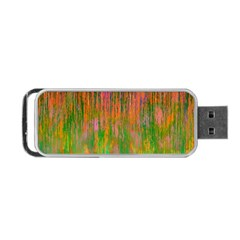 Abstract Trippy Bright Melting Portable USB Flash (Two Sides)