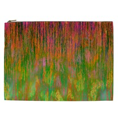 Abstract Trippy Bright Melting Cosmetic Bag (XXL)