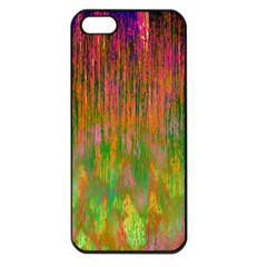 Abstract Trippy Bright Melting Apple Iphone 5 Seamless Case (black)