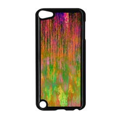 Abstract Trippy Bright Melting Apple iPod Touch 5 Case (Black)