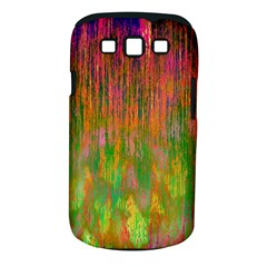 Abstract Trippy Bright Melting Samsung Galaxy S III Classic Hardshell Case (PC+Silicone)