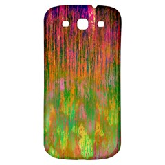 Abstract Trippy Bright Melting Samsung Galaxy S3 S III Classic Hardshell Back Case