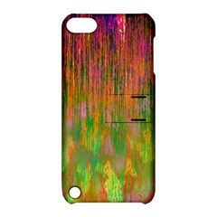 Abstract Trippy Bright Melting Apple iPod Touch 5 Hardshell Case with Stand