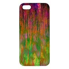 Abstract Trippy Bright Melting Apple iPhone 5 Premium Hardshell Case