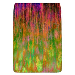 Abstract Trippy Bright Melting Flap Covers (L)