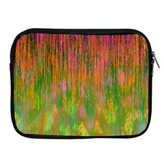 Abstract Trippy Bright Melting Apple iPad 2/3/4 Zipper Cases