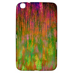 Abstract Trippy Bright Melting Samsung Galaxy Tab 3 (8 ) T3100 Hardshell Case