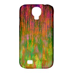 Abstract Trippy Bright Melting Samsung Galaxy S4 Classic Hardshell Case (pc+silicone)