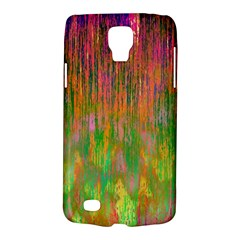 Abstract Trippy Bright Melting Galaxy S4 Active